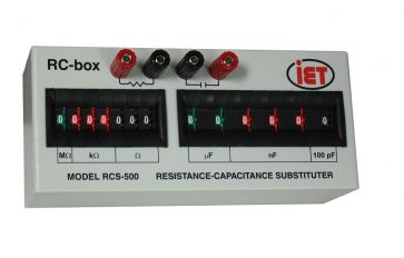 RCSシリーズ抵抗および容量ボックス