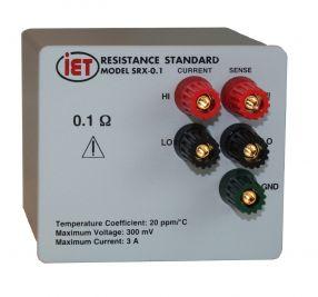 ACで使用するために設計されたSRAC標準抵抗器