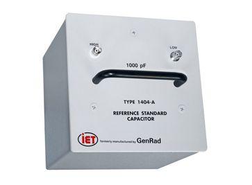 GenRad 1404シリーズ主標準コンデンサ